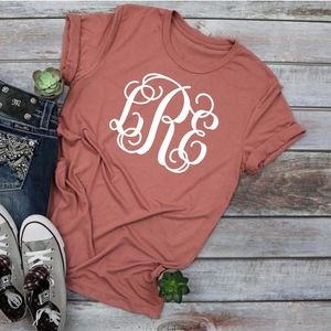 Custom Monogram Shirt - Personalized / Monogrammed